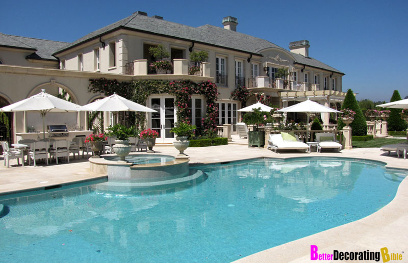 Celebrity Homes: Real House Wife Lisa Vanderpump's Beverly Hills Mansion