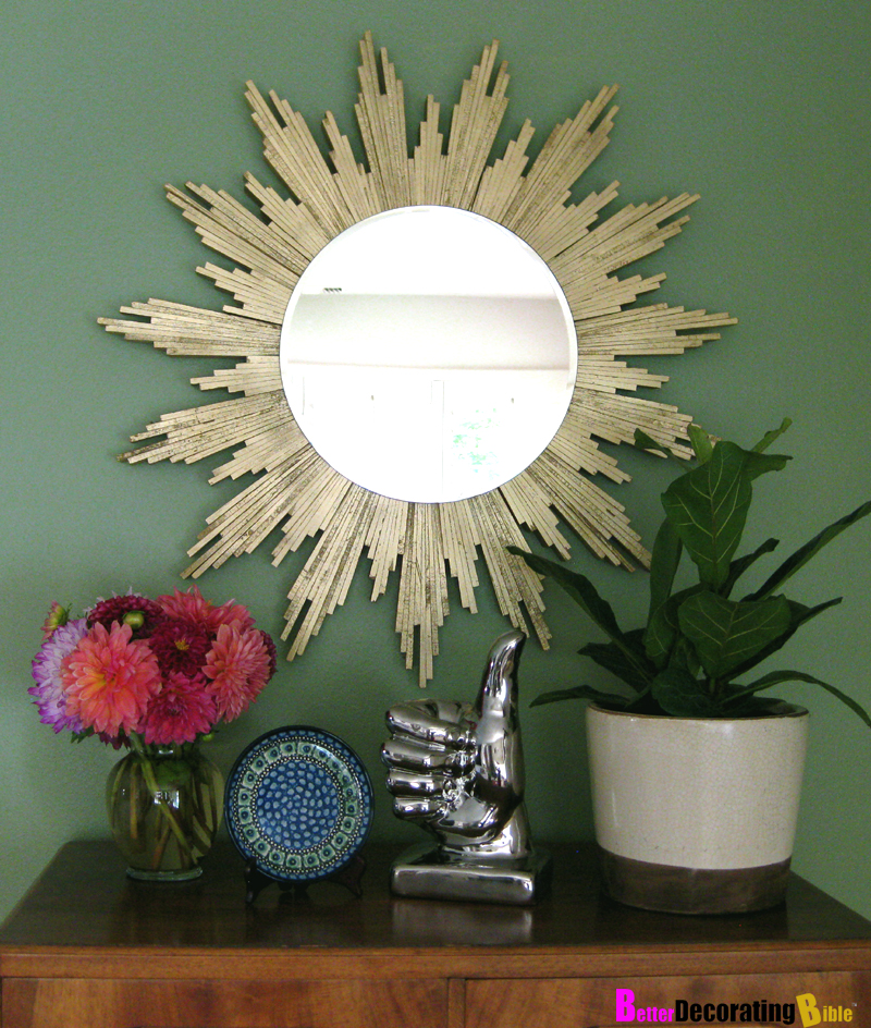DIY Friday: Sunburst Mirror