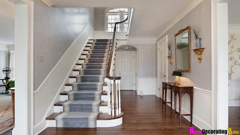 Georgian style house interior design - House interior