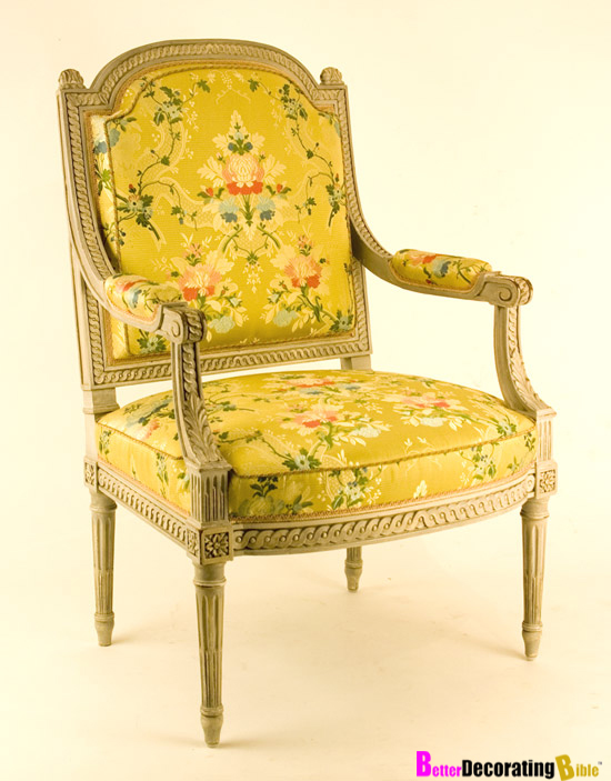 Louis XVI Arm Chair - Look Great Anywhere