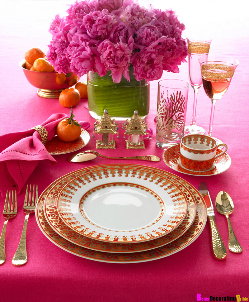 Set the Table in Style  Gold Cutlery