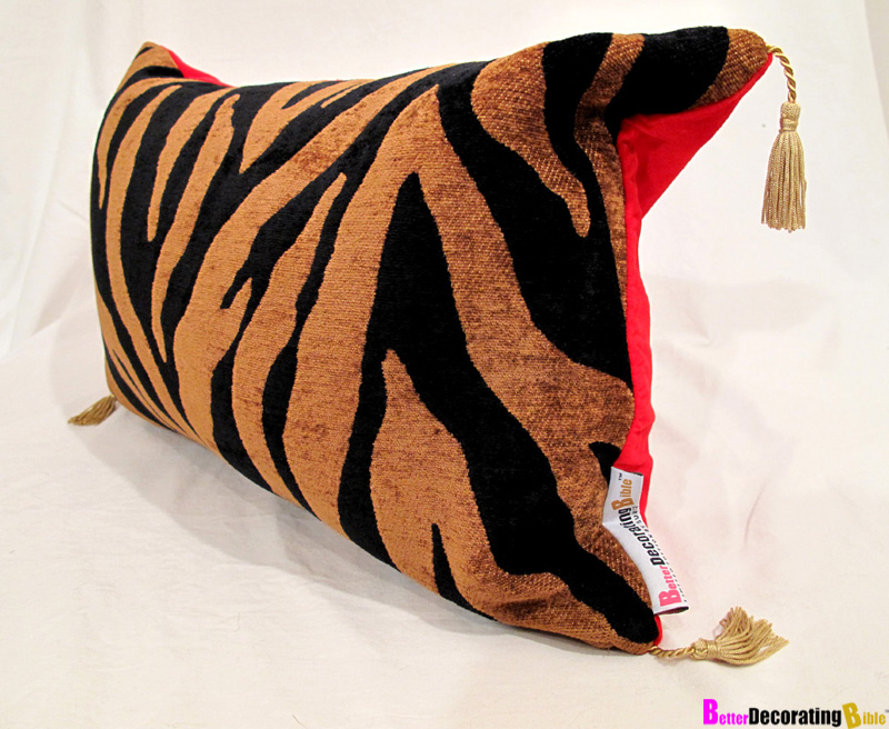 Designer Must Have - Scalamandre Leopard Print Accent Pillows