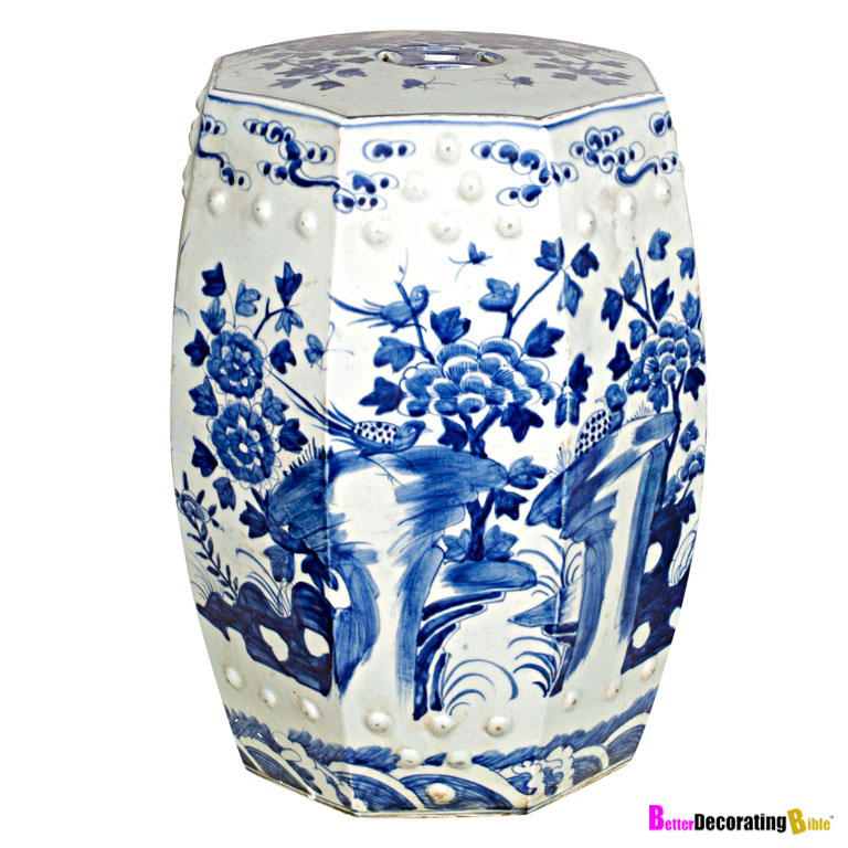 Add an Exotic Flair - Blue and White China