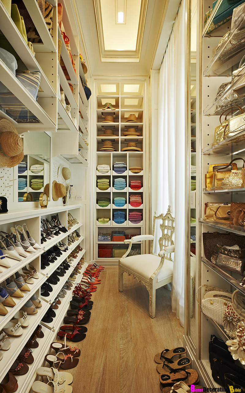 Decorating Walk-In Closets – How to Get Started