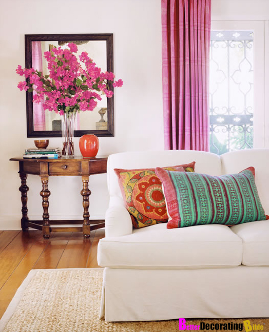 Go With the Flow: How to Decorate Using Posh Pink Hues