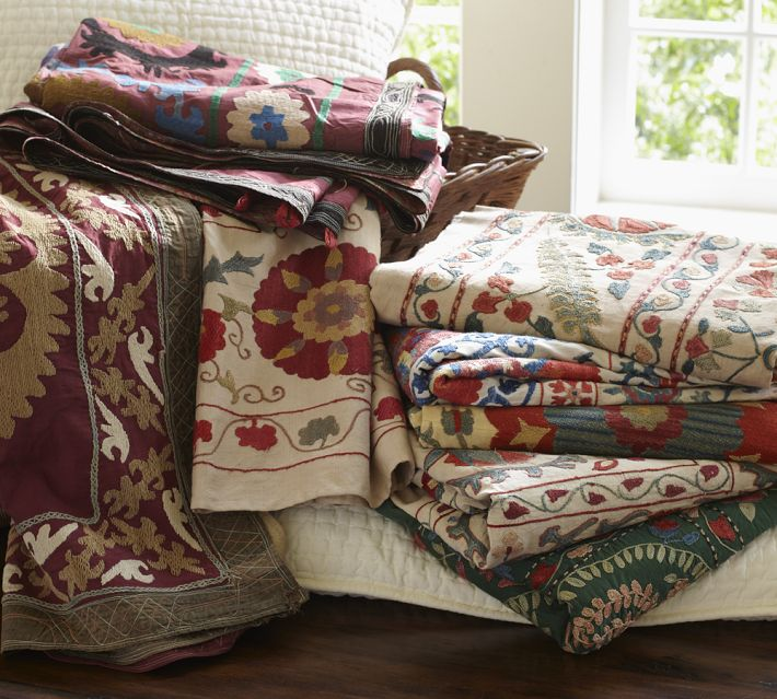 O Suzani! – Bringing Folk Patterns into Your Décor Mix