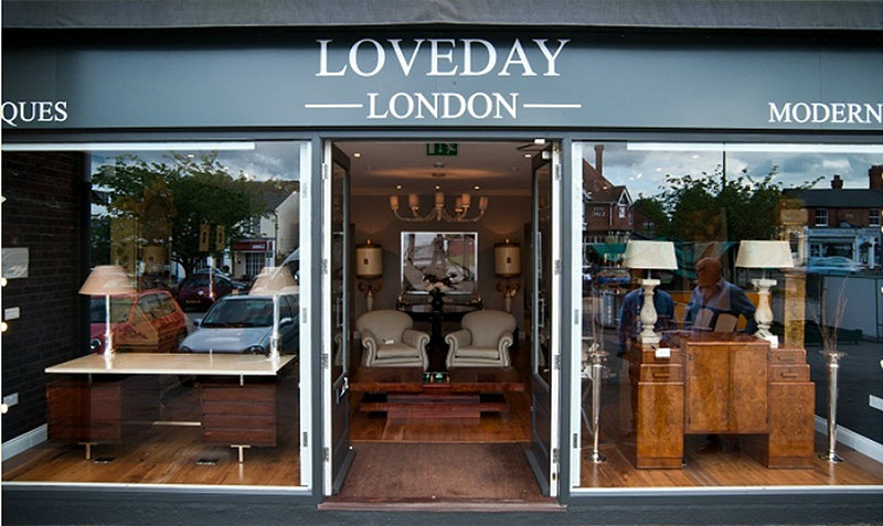 Day Trip to London: Shopping at LoveDay Antiques