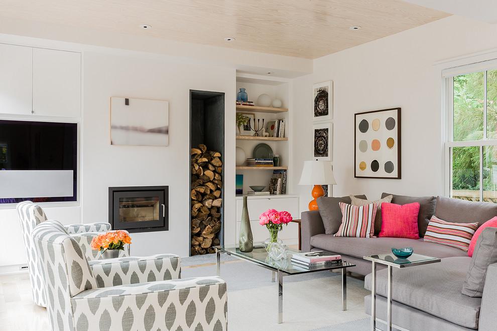 Terrat Elms Interior Design, Ikat Sofa, Couch, Armchair