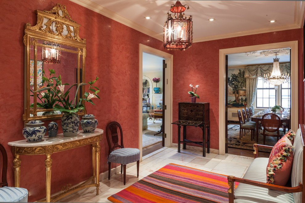 Park Avenue Apartment Shocks With Stunning Wall Mural