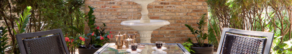 outdoor seating backyard fountain better decorating bible exterior design blog contemporary-patio