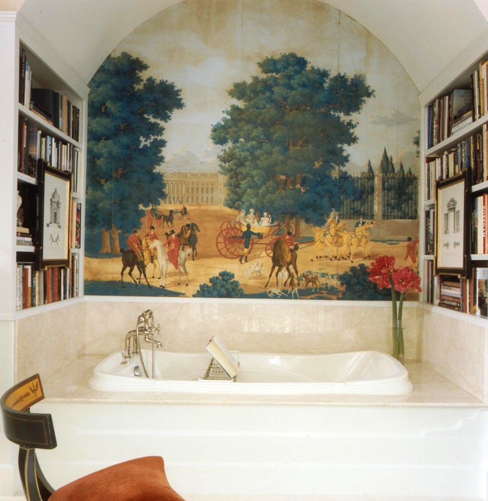 10 amazing bathroom wallpaper ideas and tricks sroka design traditional bathroom