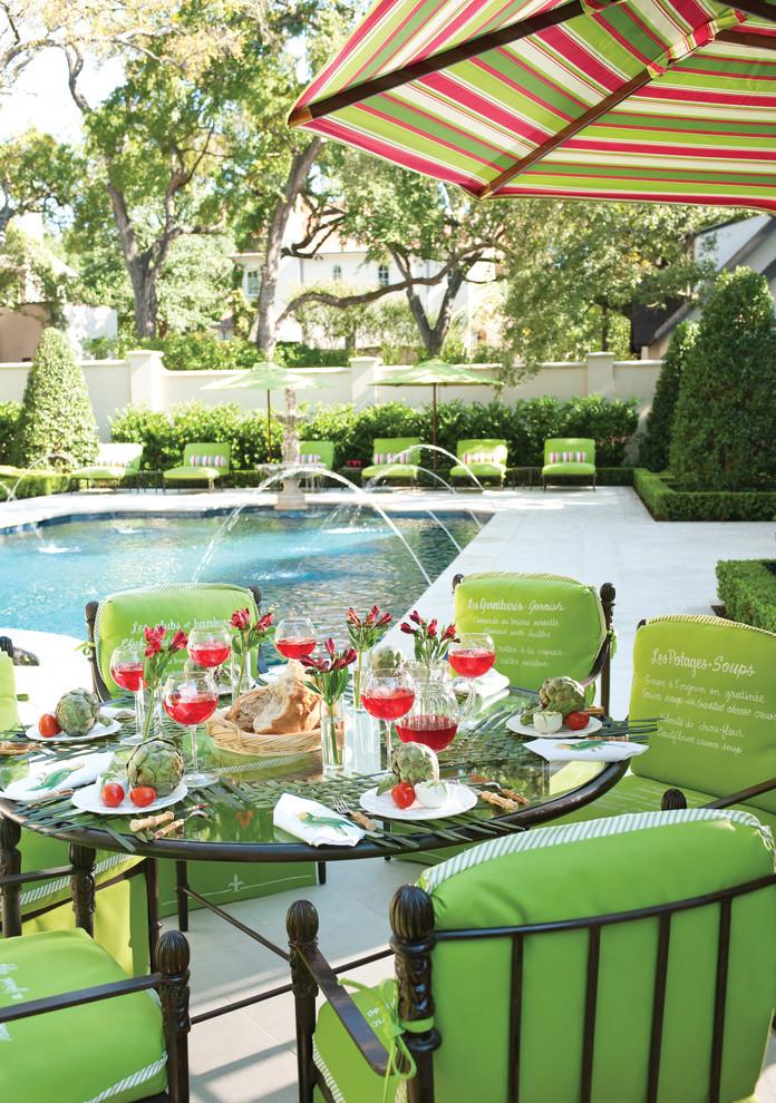 harold leidner architects pool decor umbrella green colors better decorating bible blog