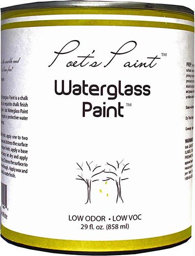 poets paint waterglass chalk paint furniture