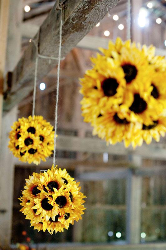 Sunflower balls diy decor idea fall porch better decorating bible blog