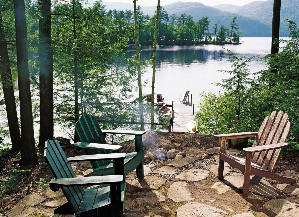 Spotlight on vintage adirondack a new shop for antiques Lake house decorating photos