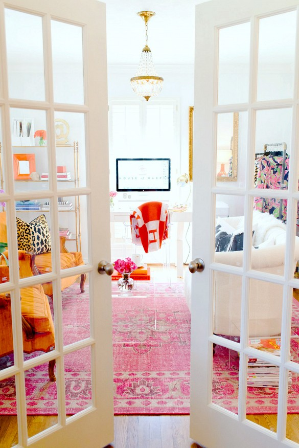pink persian rug design decor ideas