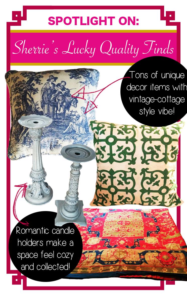 spotlight on sherrie u0027s lucky quality finds u2013 a cozy décor shop