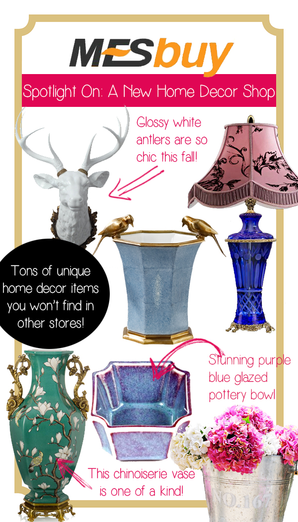Spotlight On: Mesbuy ? A New Online Home Décor Store Full of Unique Treasures
