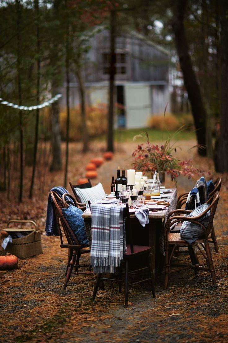 outdoor dining halloween thanksgiving decor alfresco holidays
