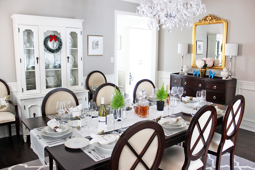 dining room holiday christmas decor ideas