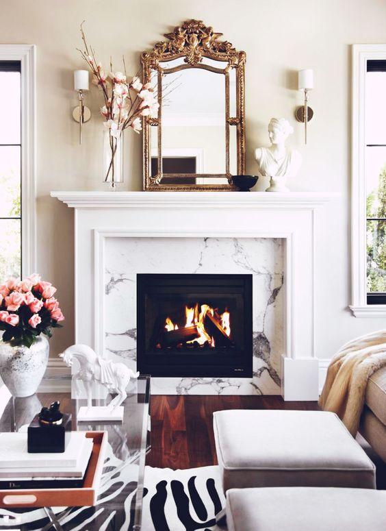 Betterdecoratingbible home interior design interior for Interior design living room mirror