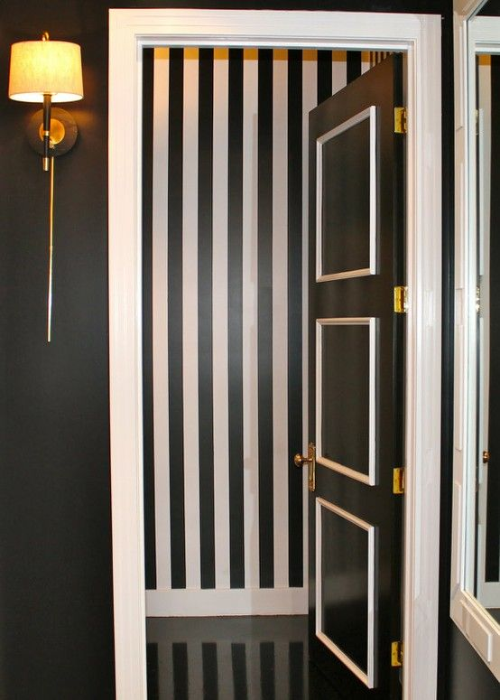 black and white door with molding diy monochrome decorating ideas