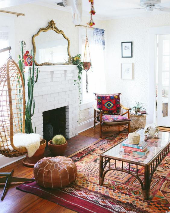 bohemian-decorating-bamboo-furniture-ideas