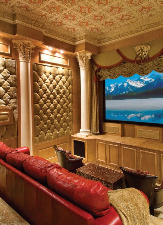 10 Easy Ways To Transform Your Space Into A Home Theater