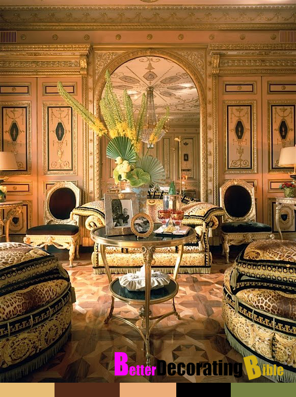 Celebrity Home Inside Donatella Versace S Apartment