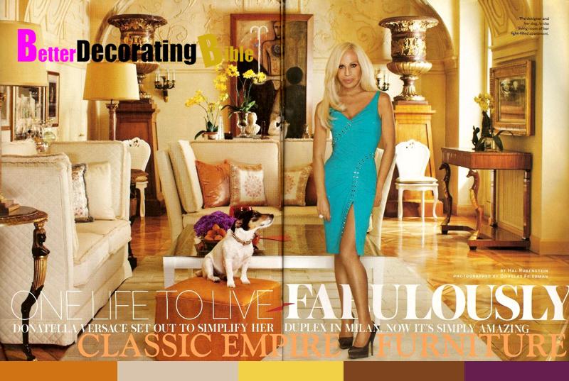Donatella Versace's Home