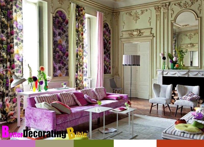 Decorating With Color Endearing With French Country Living Room Ideas Pictures