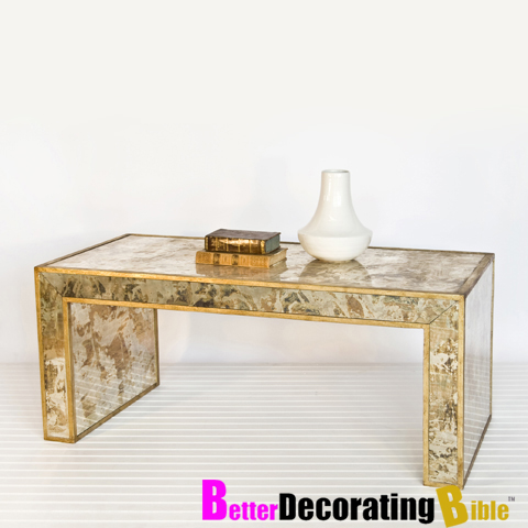 Gold Leaf Coffee Table Gold Leaf Metal Coffee Table