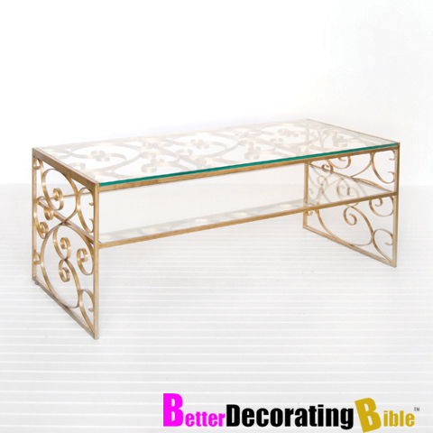 Gold Leaf Coffee Table Coffee Table Gold Leaf