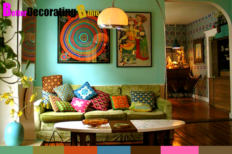 Interiors Furniture & Design: Bohemian Decorating Ideas