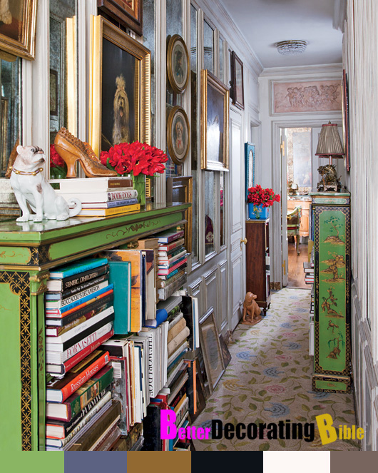 Celebrity Home Iris Barrel Apfel 39 S New York City Apartment