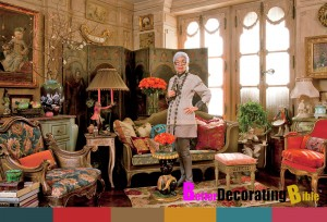 Iris Barrel Apfel's New York City Apartment