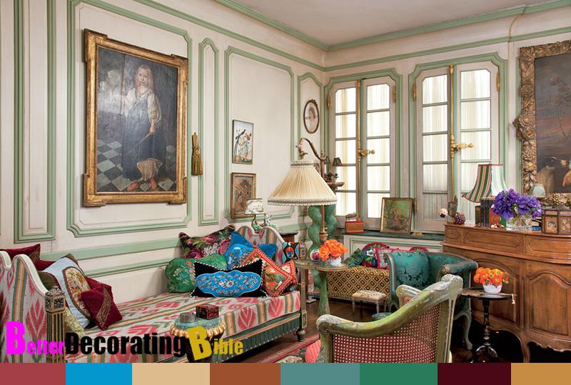 Iris Barrel Apfel's New York City Apartment