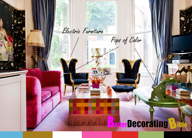 Modern french regency style interior design marie antoinette ...
