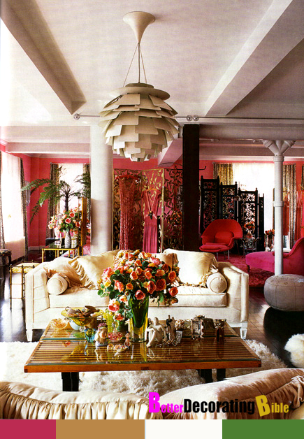 Glamorous Room: Betsey Johnson's Apartment
