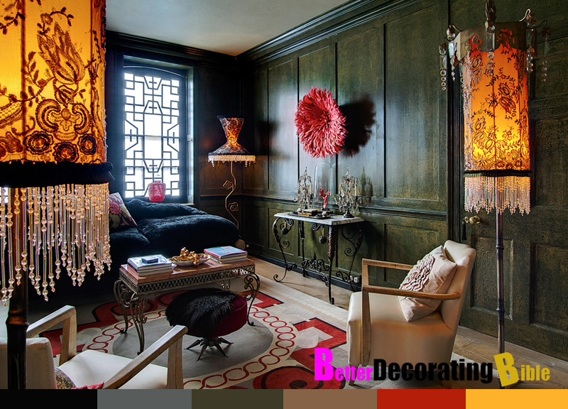 bohemian style interior design gypsy home how to better decorating ...