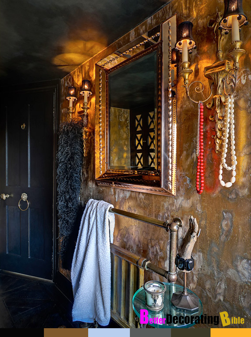 bohemian bathroom decor home interior design