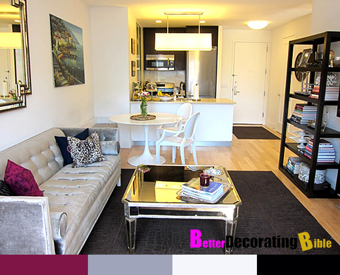 New york studio apartment decorating ideas for Furnishing a small flat