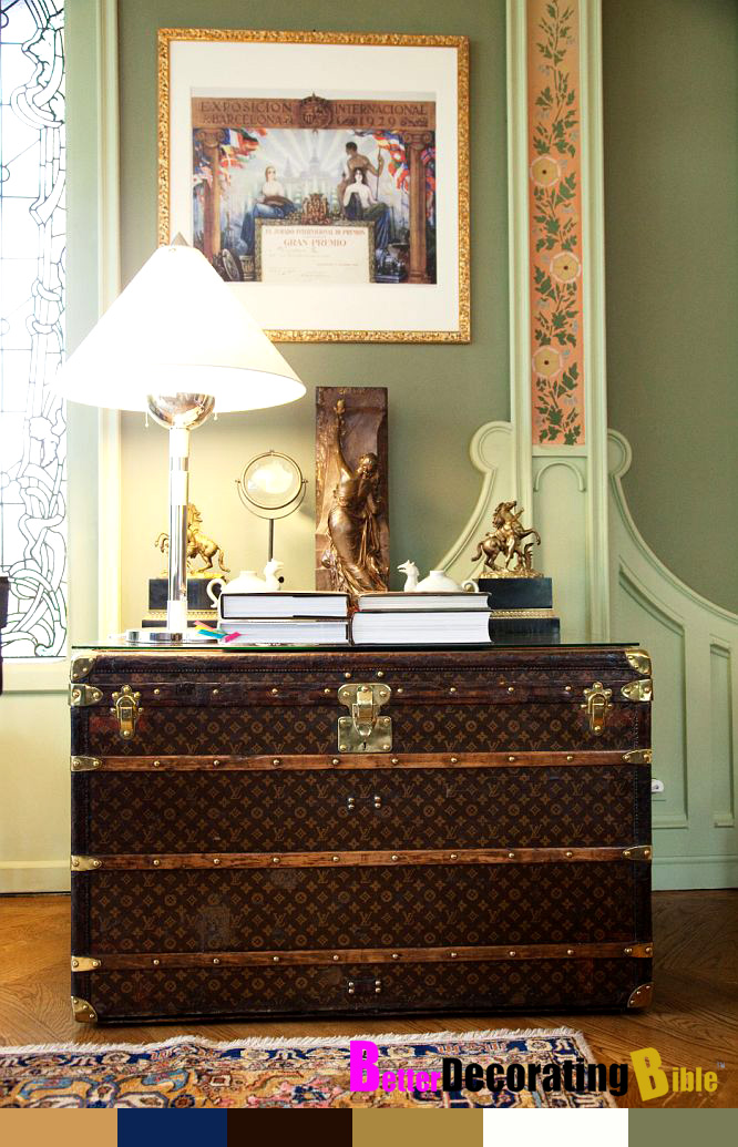 Decorating With Louis Vuitton Trunks