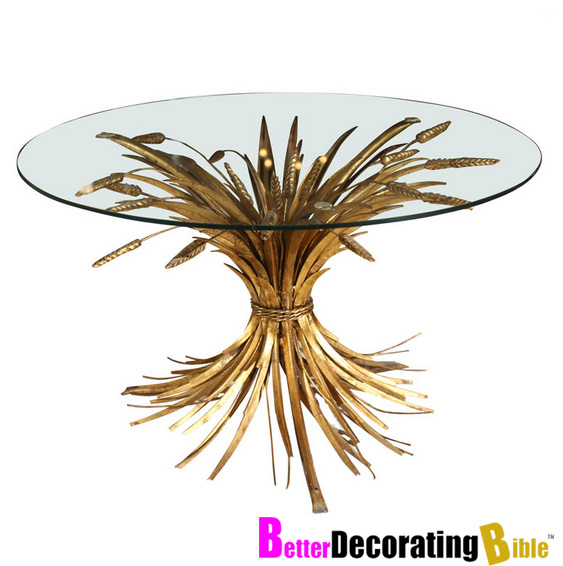Betterdecoratingbible: Gold Sheaf Wheat Tables