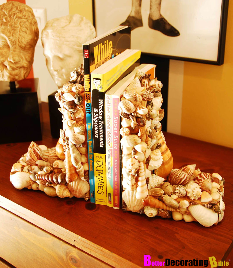 Sea Shell Book Ends