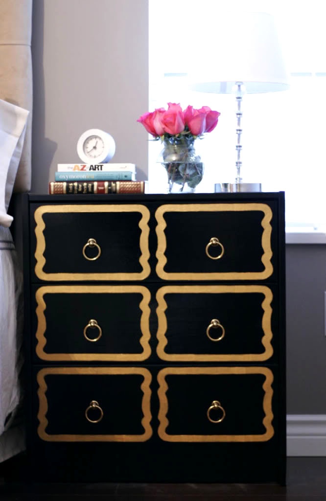 DIY: $35 Ikea Dresser into $4,000 Dorothy Draper Chest!
