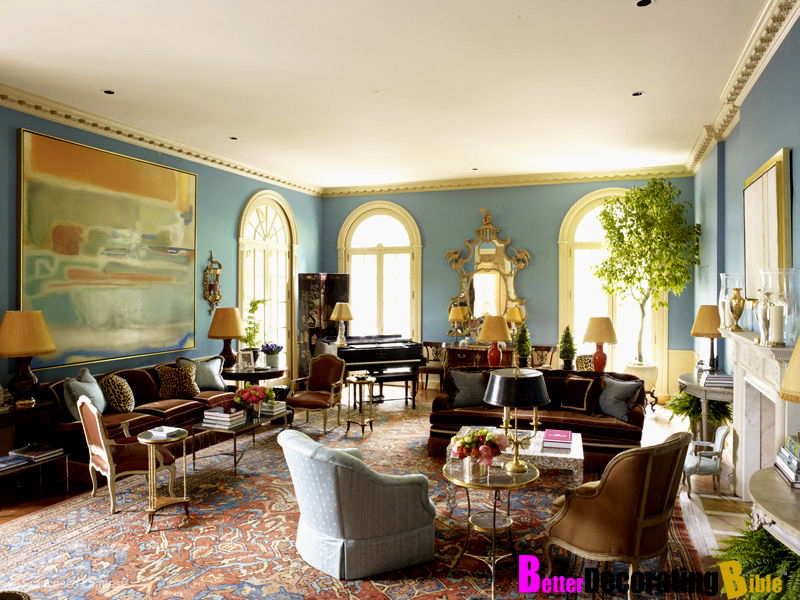 How To Decorate A Living Room In Southern Style