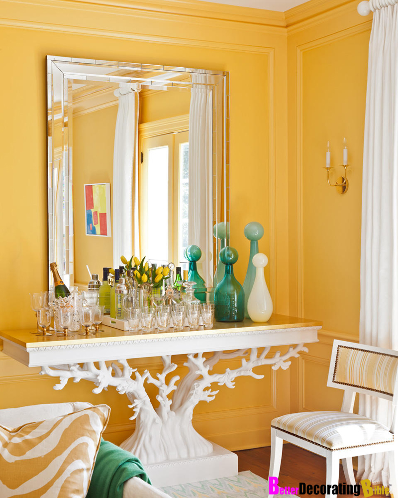 Sunny yellow walls painting how to decorate suzy q better decorating