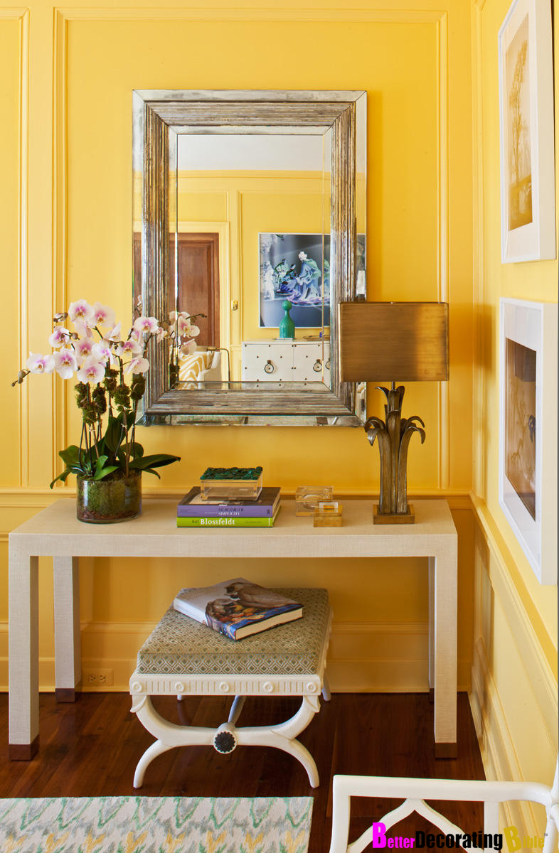 New Trend: Sunny Yellow Decorating