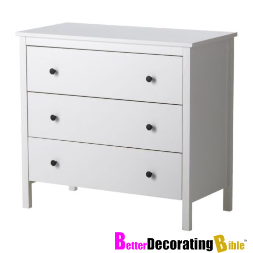 DIY Friday: Turn a Boring $100 Ikea Dresser into a $1,500 Nail Head Chest!
